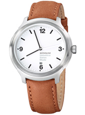 MH1.B1210.LG Helvetica No1 Bold 43mm Swiss watch with Sapphire crystal