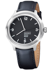 MH1.B1220.LB Helvetica No1 Bold 43mm Swiss watch with Sapphire crystal