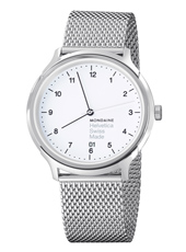 MH1.R2210.SM Helvetica No1 Regular 40mm Swiss watch with Sapphire crystal
