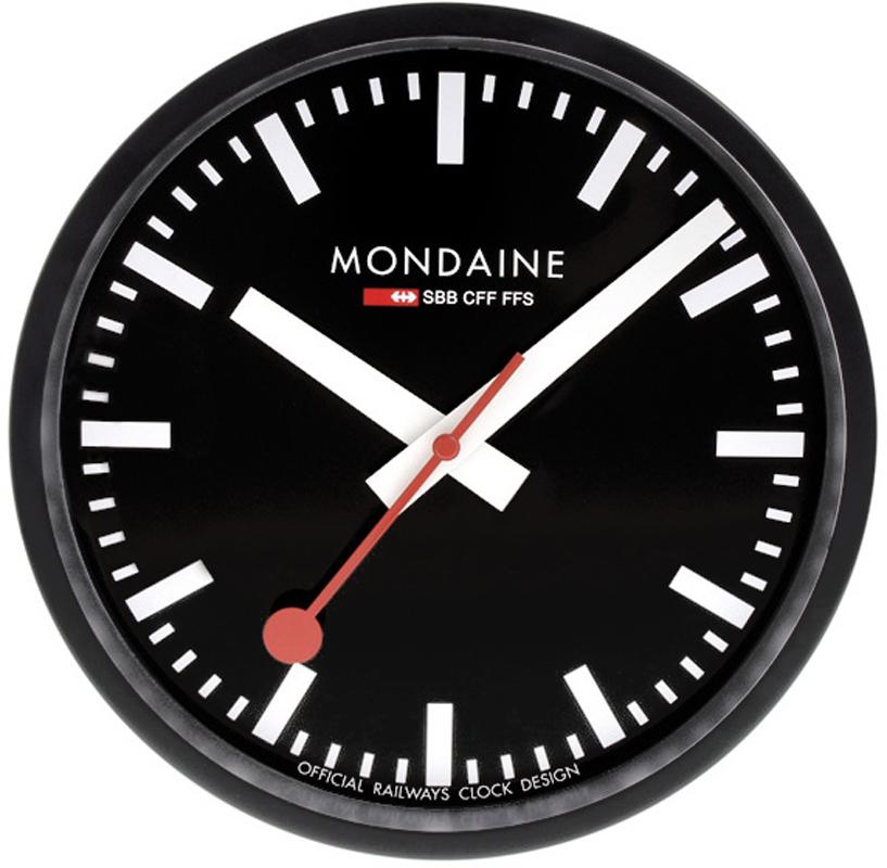 Horloge Mondaine A990 Clock 64sbb Railways Wall Clock 25 Cm