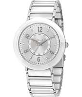 R0153103509 Firenze Silver ladies watch with steel bracelet