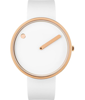 43383  40mm White & Rose Gold Design Watch