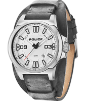 PL14200JS-04 Dayton 43mm Silver gents Cuff Watch