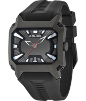 PL13600JSB-61 Tornado 44mm Rectangular Gents Quartz Watch