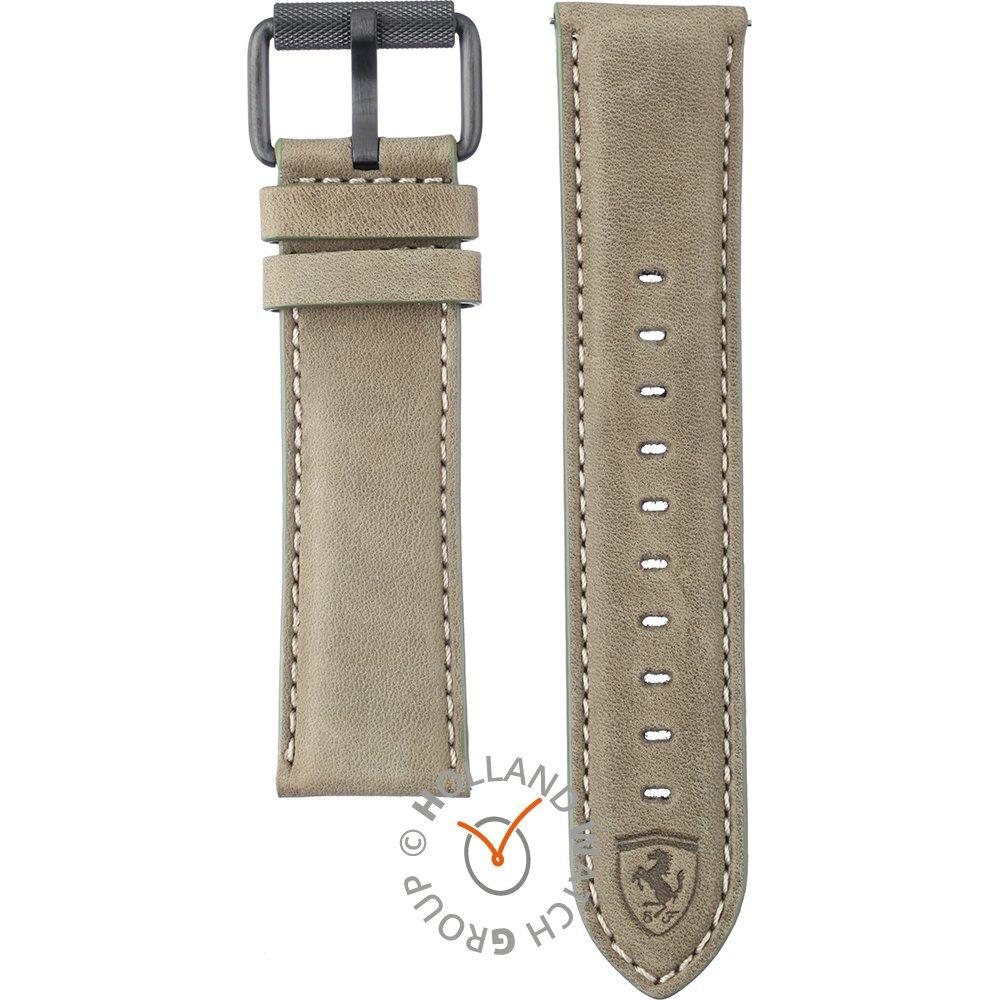 bracelet cuir montre ferrari