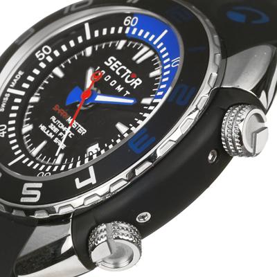 Montre sector r3251178025 sans limits maritime shark master - Sector dive master ...