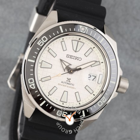 Automatic diving watch with date bubble Collection Automne-Hiver Seiko