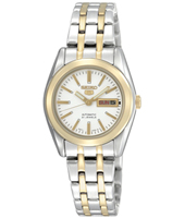 SYMH88K1 Seiko 5 Lady 26mm Bicolor Automatic Ladies Day/Date Watch