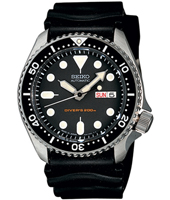 SKX007K1   42mm Automatic Black 20 ATM Day/Date Dive Watch, Rubber Strap