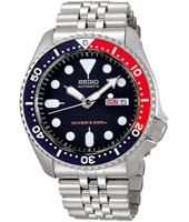 SKX009K2  42mm Automatic Diver Watch with Pepsi Bezel