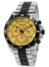 3506  44mm Steel Sports Chronograph with Date