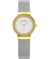 358SGSCD Freja Small 26mm Bicolor Milanese Ladies Watch