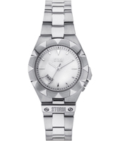 47225-W Mizzan Small 31mm Silver Ladies Watch with Date