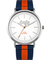 SYG183UO Oxford 38.50mm Gents Quartz Watch with Textile Strap