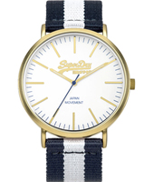 SYG183WUE Oxford 38.50mm Gents Quartz Watch with Textile Strap
