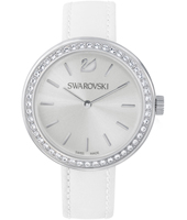 5095603 Daytime 34mm White & Silver Ladies Watch