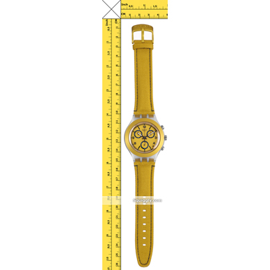 Swatch montre jaune