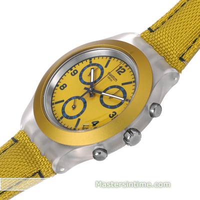 Hard Plastic and Aluminum Chronograph Collection Printemps-Eté Swatch