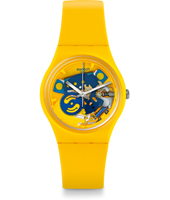 GJ136 Poussin 34mm Standard Size Lacquered Watch