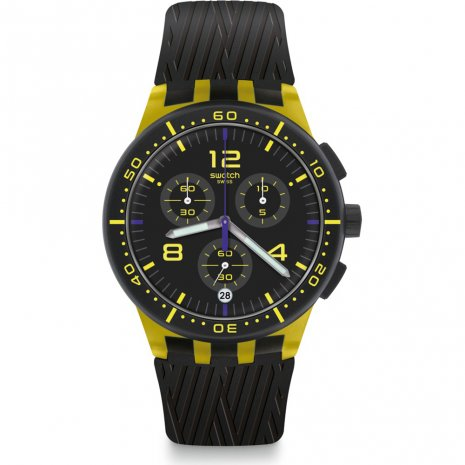 Swatch Yellow Tire montre
