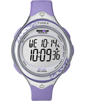 T5K603 Clear View 38mm 30 Lap Memory Mid Purple