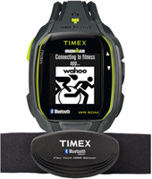 TW5K88000 Ironman Run x50+ 42mm Bluetooth fitness watch with Heart Rate strap