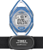 T5K569 Race Trainer 36mm 50 lap Memory, Heart Rate Monitor Watch