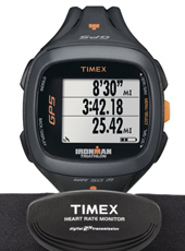 T5K742 Run Trainer 2.0 45mm 15 Workout & 100 Lap Memory + GPS & Heartrate Monitor