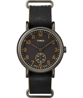 TW2P86700 Weekender Oversized 40mm Retro design watch with loomi dial