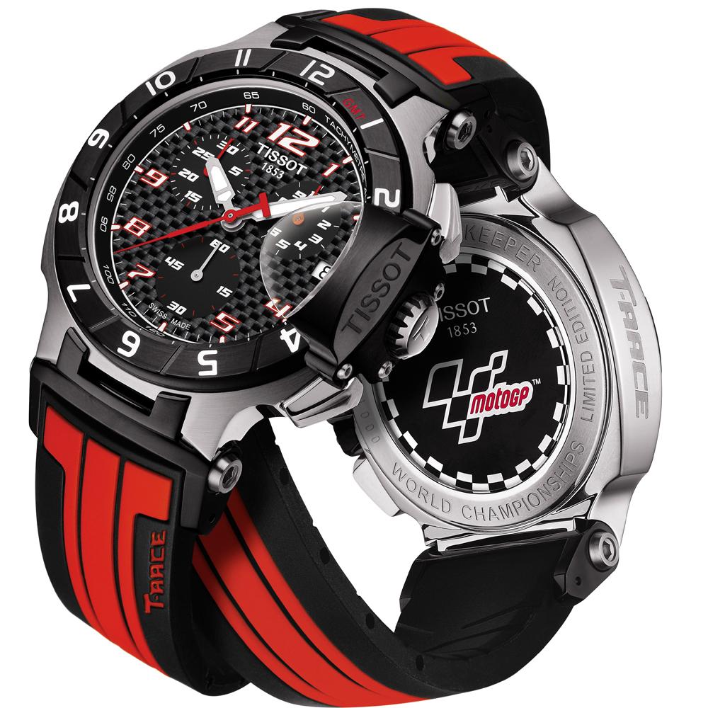 Tissot montre rouge