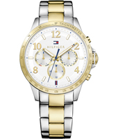 1781644 Dani 38mm Two tone ladies watch with day-date