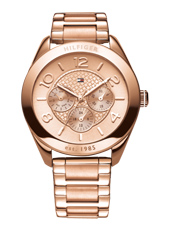 TH1781204 Gracy 44mm Rose Gold Day/Date Ladies Watch