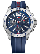 TH1791142 Nolan 46mm Blue sporty gents watch with daydate