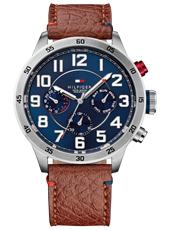 TH1791066 Trent 46mm Brown & Blue Multifunction Gents Watch